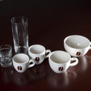 koffiekaart servies